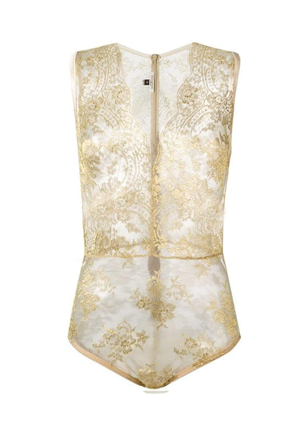 Gilda & Pearl Body small Harlow Gold Lace Body