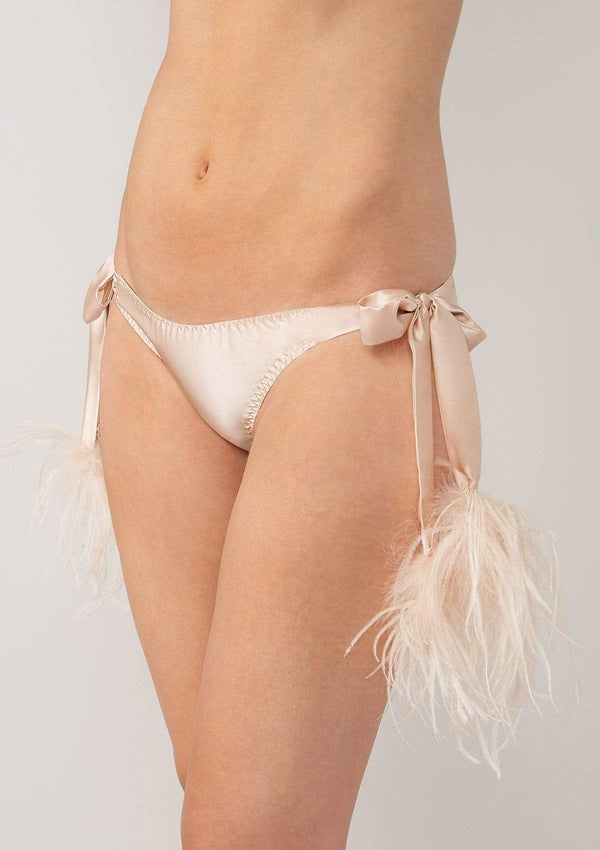 Gilda & Pearl knicker small-medium / Shell Mia Tie Side Knicker
