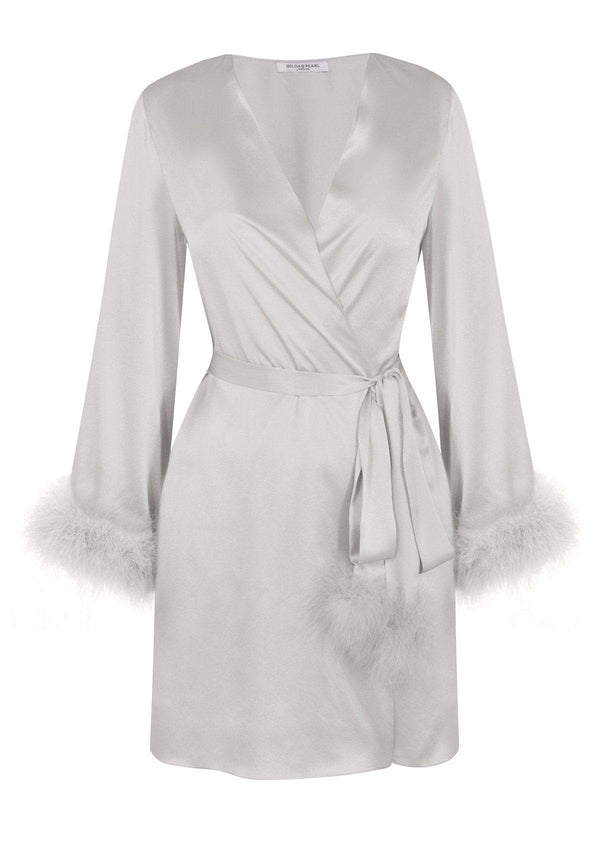 Gilda & Pearl Robe Kitty Short Robe