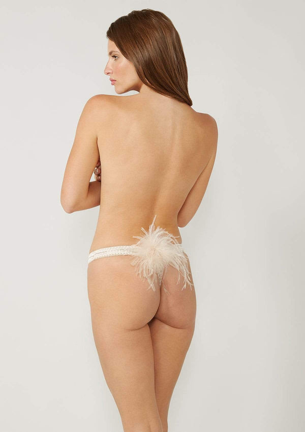 Gilda & Pearl Thong small Kitty Thong