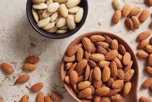 Featured ingredient Sweet almond oil