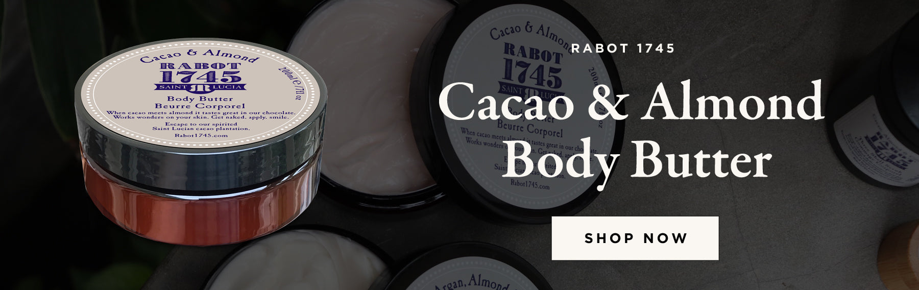 Cacao Almond Body Butter