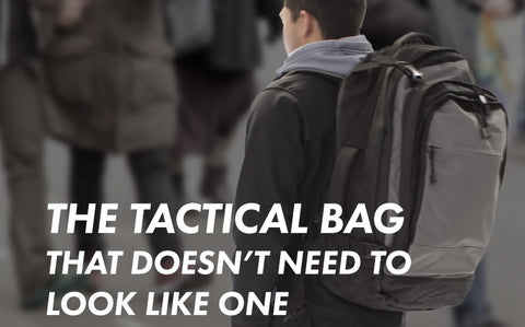 The tactical backpack that doesnt look like one