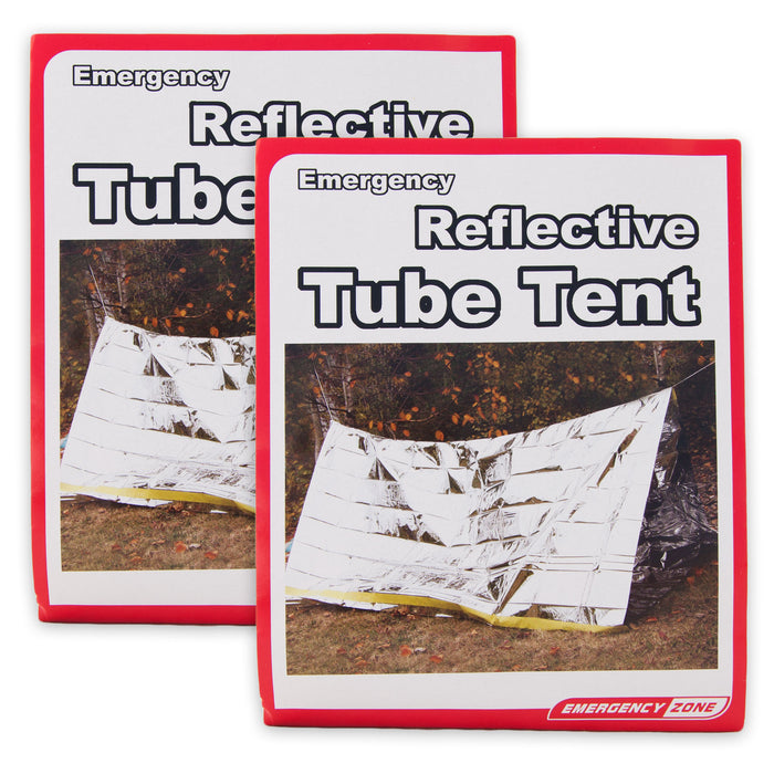 2 Person Reflective Emergency Tube Tent