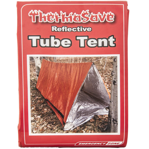 ThermaSave Reversible All Weather Tube Tent - Emergency Zone