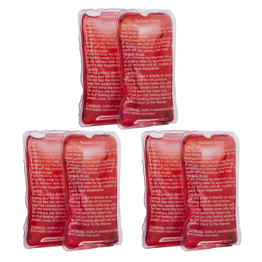 "ReDo Reusable Hand Warmers - 3""x5"" - Emergency Zone"