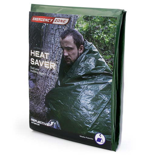 Ultralight Heat Saver Dual Layer Insulating Blanket