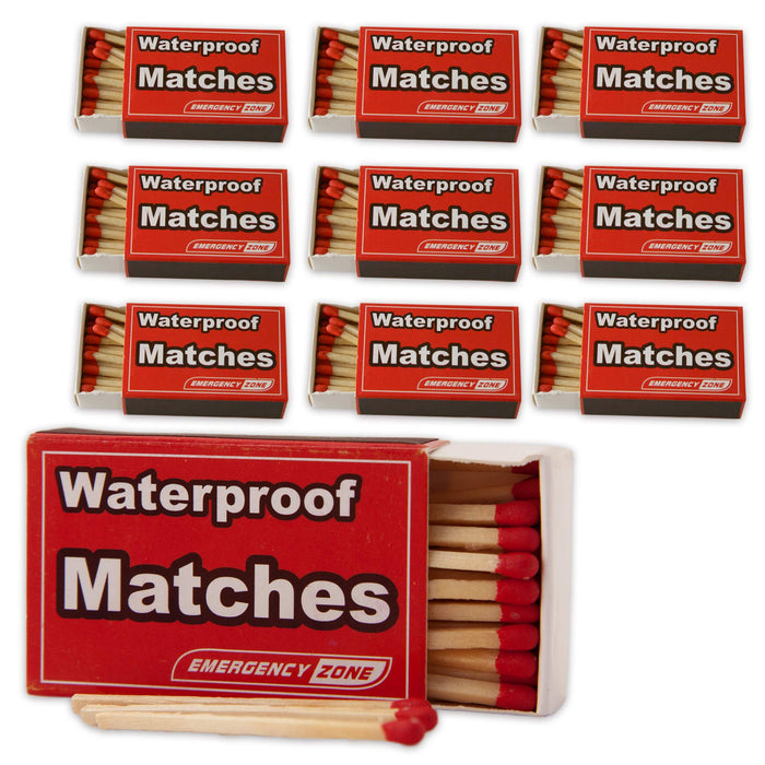 Waterproof & Stormproof Matches