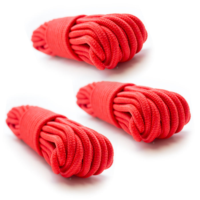 "9mm (3/8"") x 50' Nylon Braided Rope"