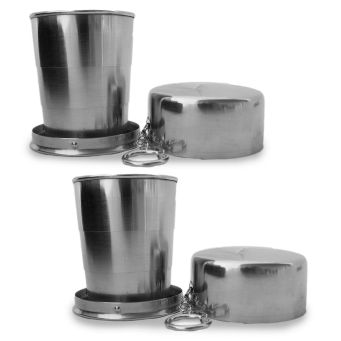 Collapsible Stainless Steel Cup
