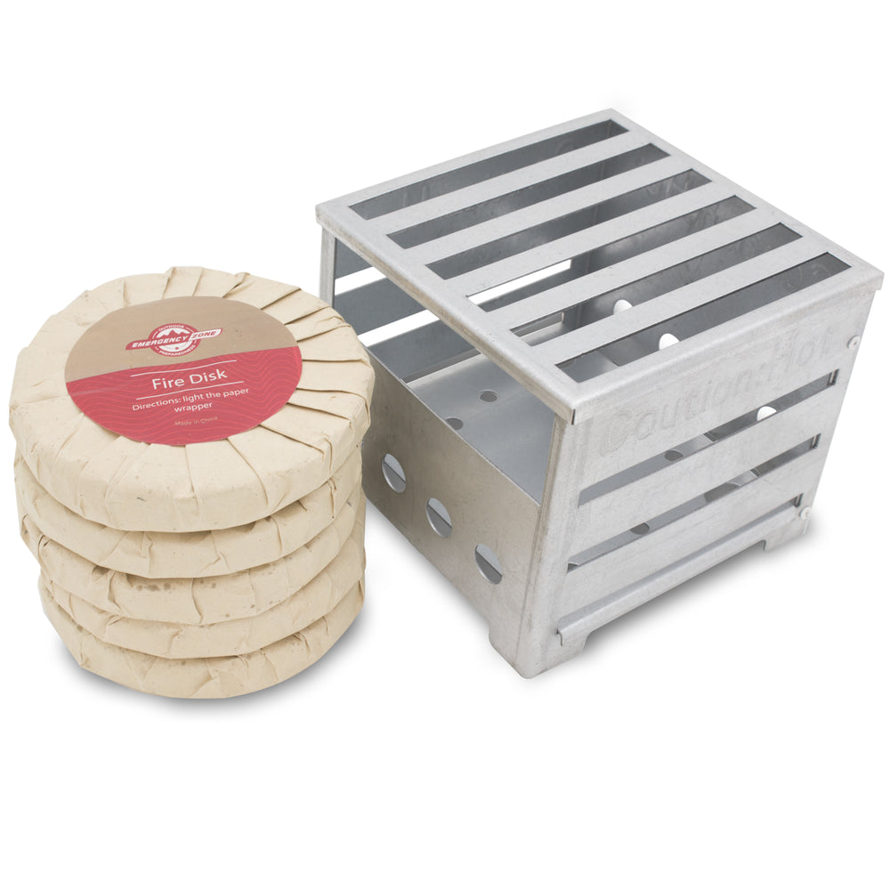 Box Stove with 5 Fire Disks