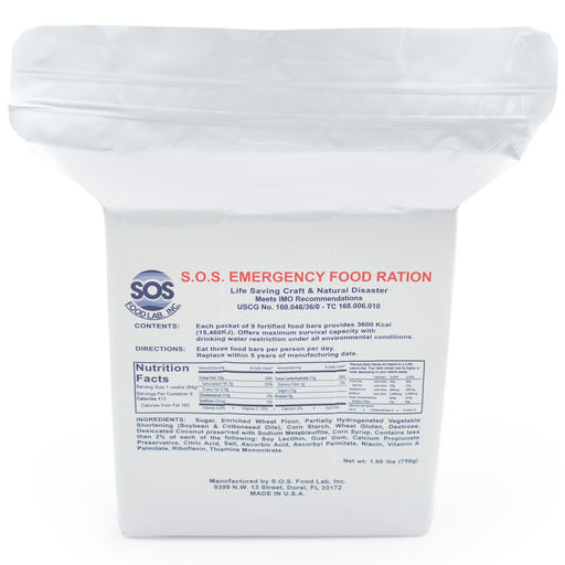 Food and Water Replacement Set - Emergency Zone