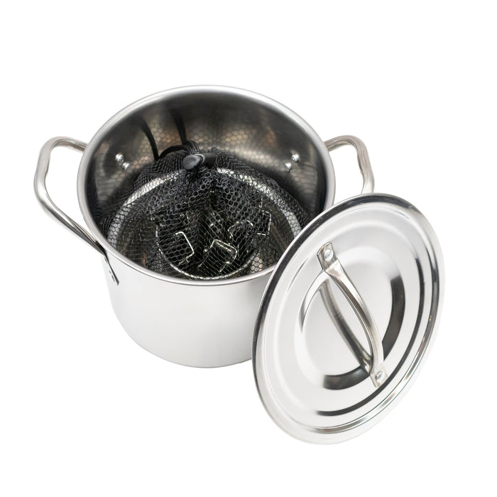 4 Person Stainless Steel Cooking Set - Emergency Zone