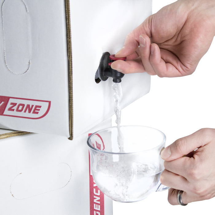 Water Storage and Treatment Set - 50 Gallon - Emergency Zone