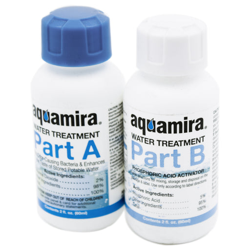 Aquamira Water Treatment - Treat up to 60 Gallons of Water - Emergency Zone