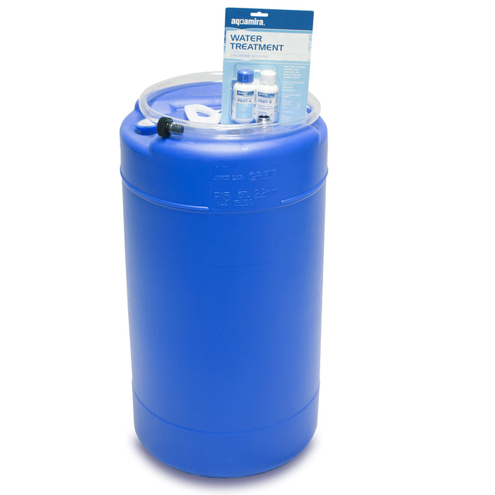 15 Gallon Water Storage Tank with Treatment