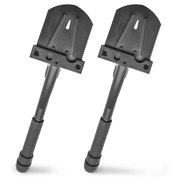 11-in-1 Folding Shovel Multifunction Survival Tool
