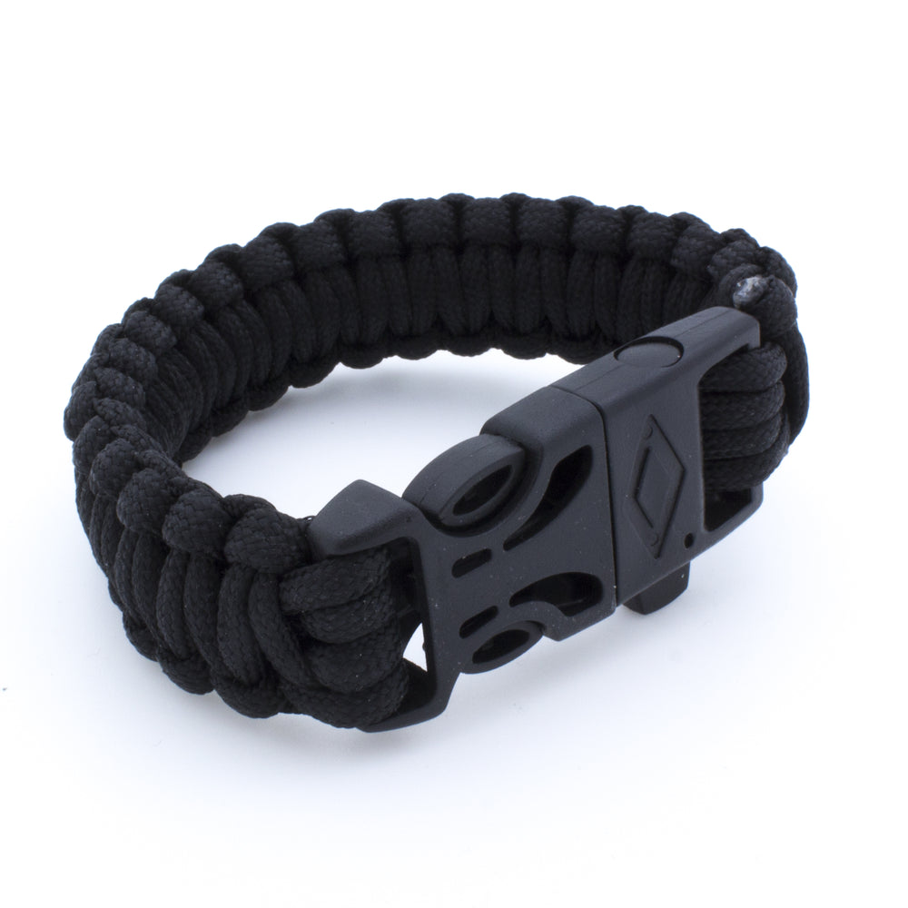 Paracord Survival Fire Bracelet