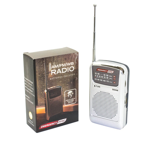 Weather Band AM/FM Radio - Emergency Zone