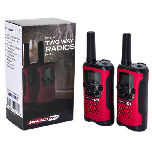 Emergency Two-Way Radios - Emergency Zone
