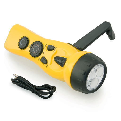 Dynamo Radio Flashlight - No Batteries Needed - Emergency Zone