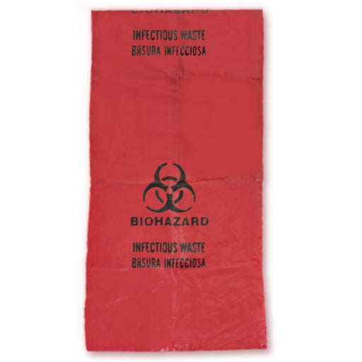 Red Biohazard Bag - Emergency Zone