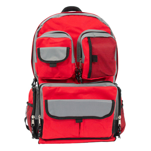 Red Urban Backpack - Emergency Zone