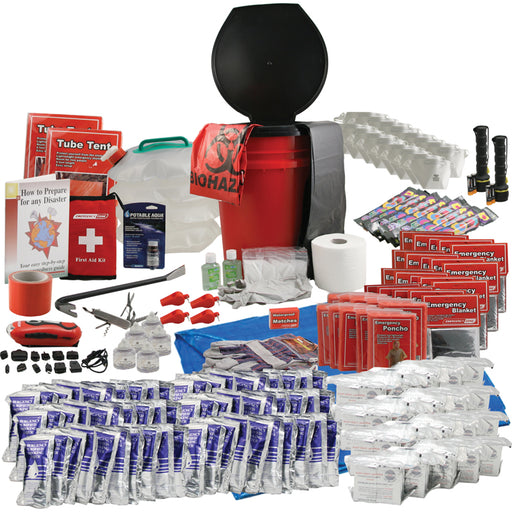 Office Honeybucket Emergency Kits - 20 Person