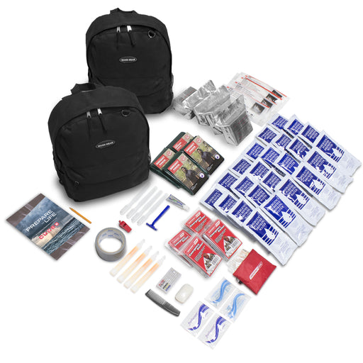 QuickStart Emergency 72-Hour Kit - 4 Person