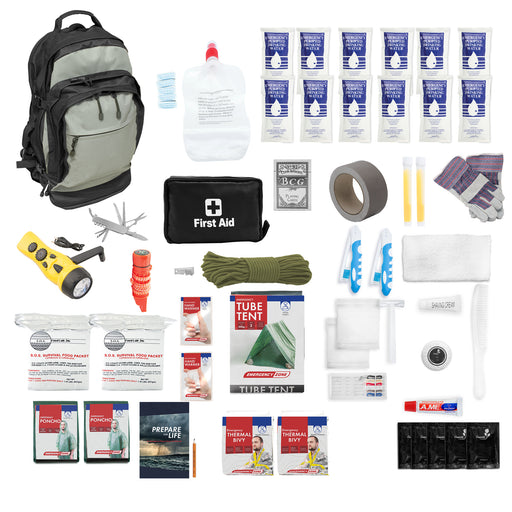 Deluxe Urban Survival Kit - Tactical Backpack - Emergency Zone