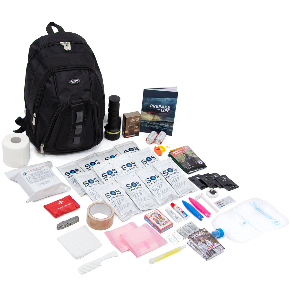 1 Person Survival Kit - Basic - Emergency Zone