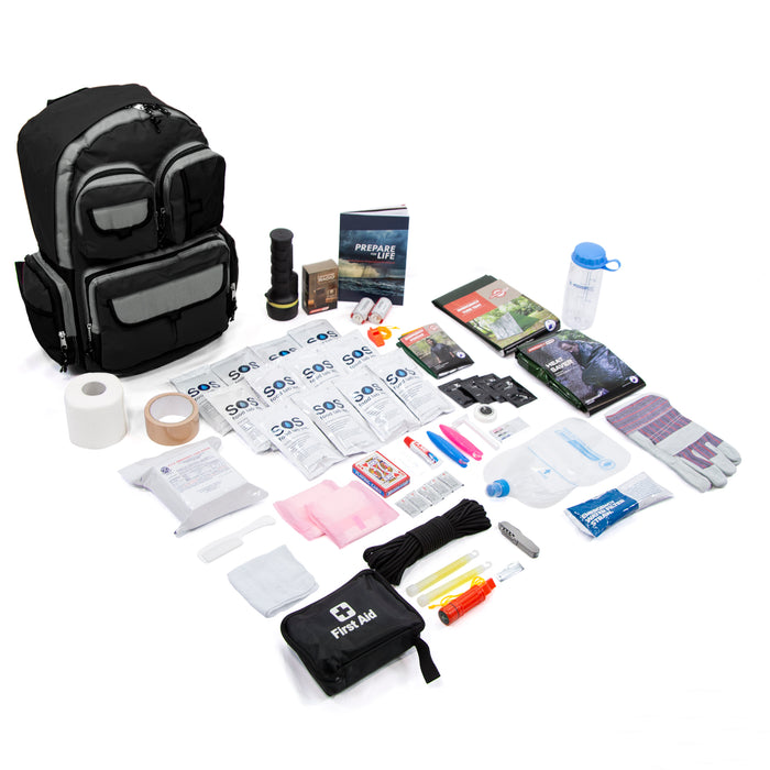 1 Person Survival Kit - Deluxe