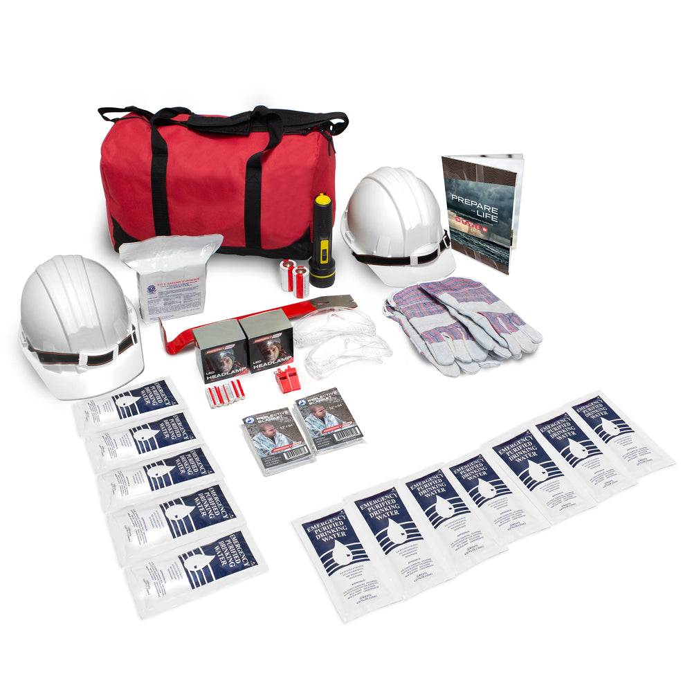 2 Person Basic Quake Pack - Emergency Zone