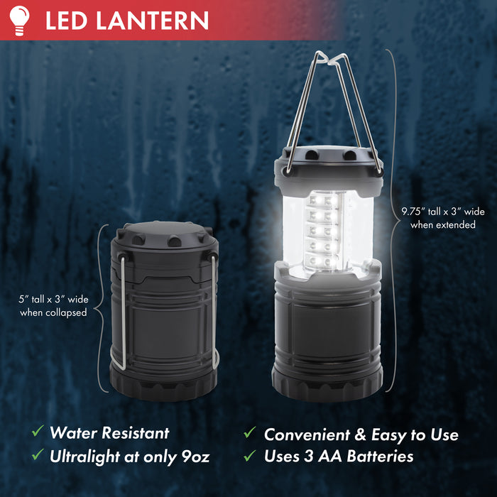 Collapsible LED Lantern - Emergency Zone