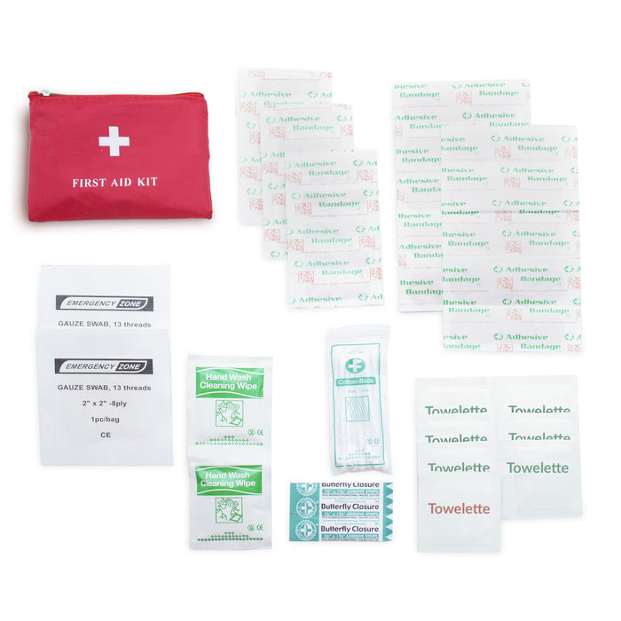 53 Piece Basic First Aid Kit