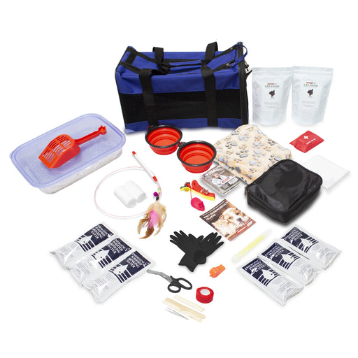 Deluxe Cat Bug Out Emergency Kit