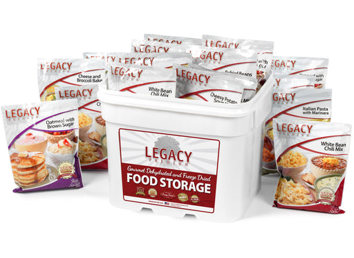 Legacy 183 Serving Mega Sample Pack - Emergency Zone