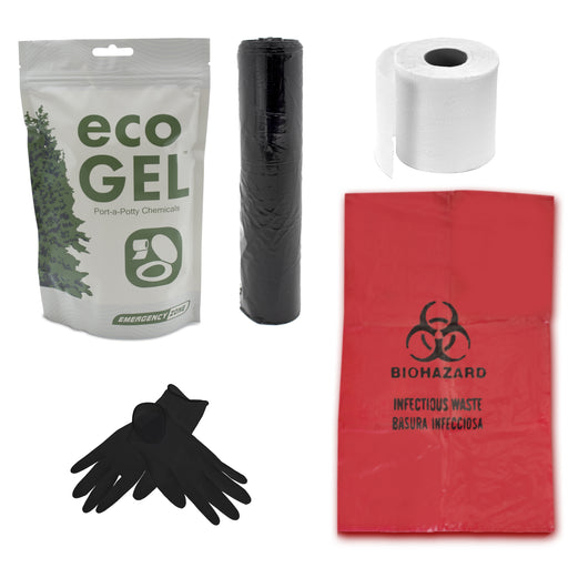 Toilet Sanitation Pack - Emergency Zone