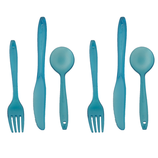 Lexan 3pc Utensil Set - Emergency Zone