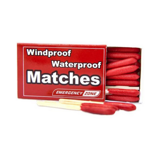 Waterproof & Stormproof Matches - Emergency Zone