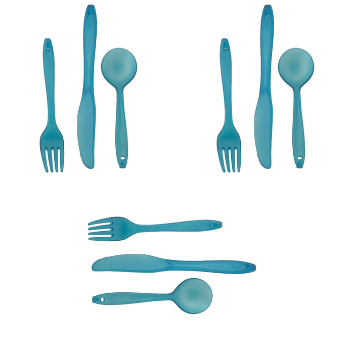 Lexan 3pc Utensil Set