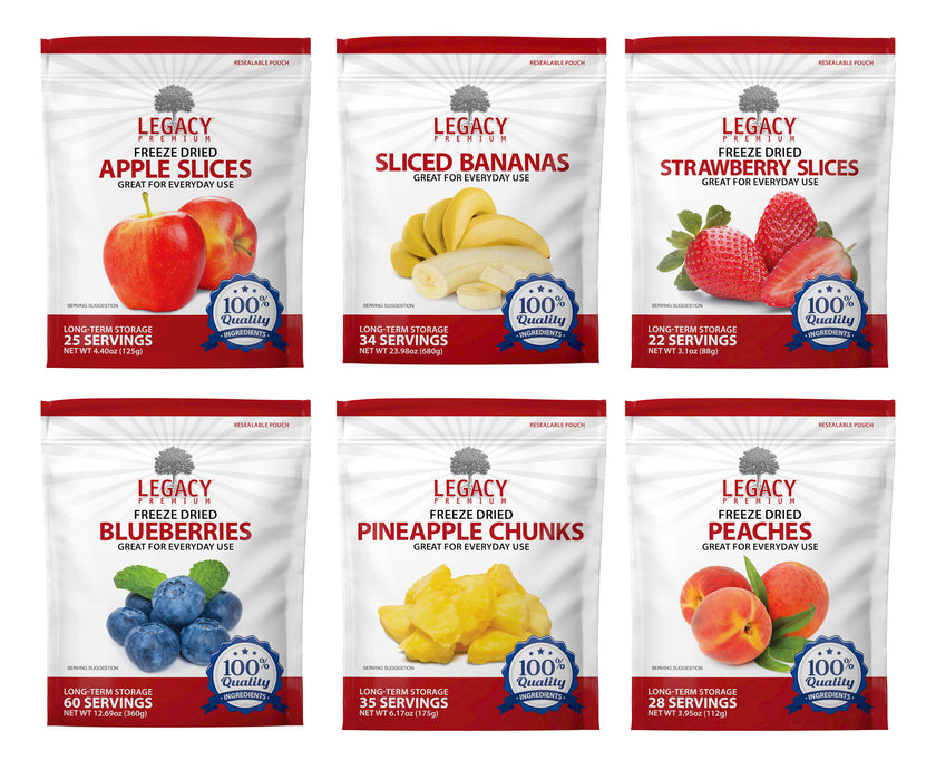 Legacy Freeze Dried Fruit