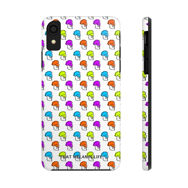 Bright Pineapple Hair Tough Phone Cases