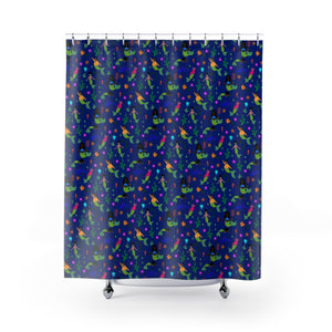 Mermaids of Color Shower Curtain