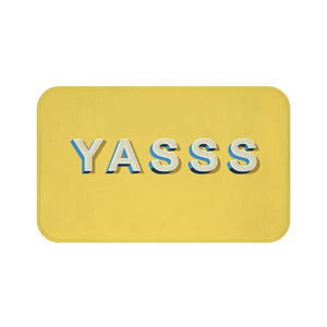 YASSS Yellow Bath Mat