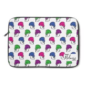 Pineapple Hair Pattern Laptop Sleeve