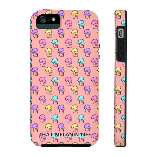 Sherbert Pastel Pineapple Hair Tough Phone Case