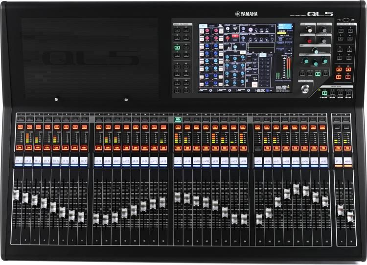 The Yamaha QL5 Digital Mixer