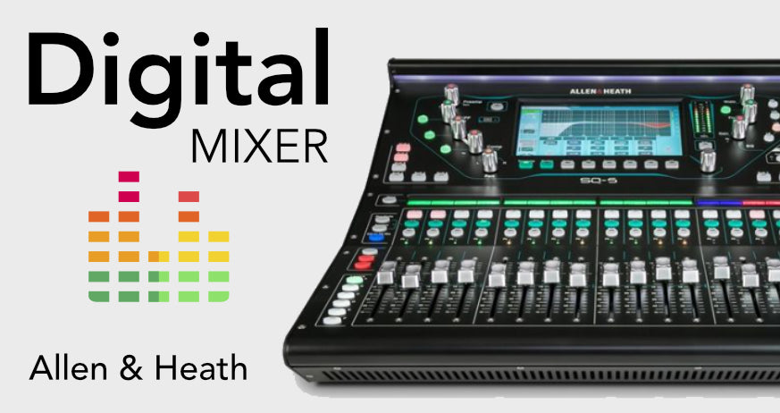 Allen Heath Digital Mixers