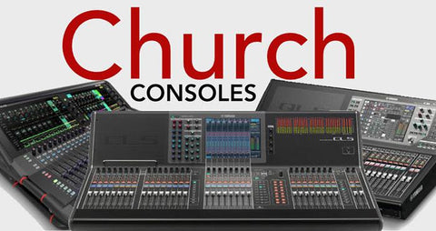 church digital mixers
